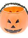 Plastic Pumpkin Bucket (Medium)