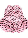 Dog Dress Pink Dog Clothes Summer Bowknot