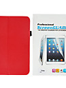 Cuir pleine caisse de corps élégant minimaliste PU Avec Touch Pen et le film protecteur pour Samsung Galaxy Tab 8.0 3 T310