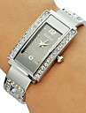 Women's Diamante Rectangle Dial Alloy Band Bracelet Watch (Assorted Colors) Cool Watches Unique Watches Fashion Watch