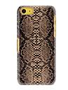 Змеиная Pattern ПК Футляр для iPhone 5C (разных цветов)