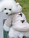 Dog Coat / Hoodie Beige Winter Classic