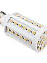 10W E26/E27 LED 콘 조명 T 60 SMD 5050 850-890 lm 따뜻한 화이트 AC 220-240 V