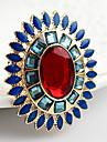 La ultima nueva llegada aulico acrilico diseno elastico de la aleacion de los anillos jewellry