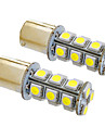 ba15s / 1156 4W 18x5050smd 330lm 5500-6500K kuehles weisses Licht LED-Lampe fuer Auto (12V, 2 Stueck)