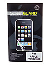 Professional Transparência LCD Guarda alta de tela com pano de limpeza para iPhone 5/5S/5C