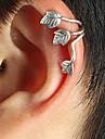 귀는 펑크 스타일 유럽의 은 도금 합금 Leaf Shape 골드 실버 보석류 용 일상