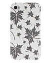 Shimmering Maple Leaf Padrao PC Hard Case para iPhone 4/4S (cores sortidas)