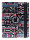 360 astetta kääntyvä iPad 2/3/4 suojakuori jalustalla, PU-nahka