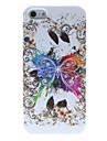 Incroyable Big Motif papillon étui souple en silicone conçu pour l'iPhone 5/5S