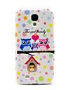 Caso Owls Family Soft TPU para Samsung Galaxy S4 i9500