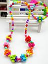 Colorful Set de lanterne de bijoux de la fille (collier et bracelet) (couleur aléatoire)