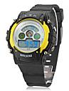 Женские Спортивные часы электронные часы LCD Кварцевый Цифровой Группа Черный