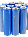 3.7V 5000mAh Rechargeable Li-ion 18650 Battery 8 pcs