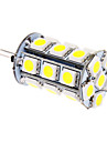 5W G4 LED Corn Lights T 24 SMD 5050 370 lm Cool White DC 12 V
