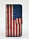 vintage meille lippu kuvio täyden kehon nahka TPU kotelo iphone 5/5s