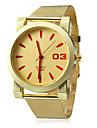 Women\'s Analog Quartz Gold Mesh Steel Band Wrist Watch (Assorted Colors)