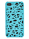 Solid Color Bird\'s Nest Designed Matte PC Hard Case for iPhone 4/4S (Assorted Colors)