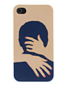 Warm Hug Pattern PC Hard Case for iPhone 4/4S