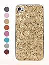 Bling Glitter Sequins Design Silver Hard Case for iPhone 4/4S