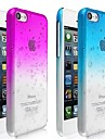 Special Design Water-drop Pattern Transparent Hard Case for iPhone 5C