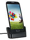 Micro USB Data Sync & Charging Station Separated Battery Charging Dock for Samsung Galaxy S4 i9500