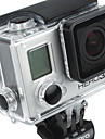 Gopro Accessories Smooth Frame / Protective Case / Button For All Gopro Aluminium Alloy Black