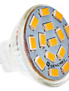 5W G4 Focos LED MR11 15 SMD 5730 310-320 lm Blanco Calido DC 12 V