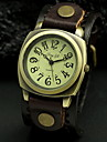 Unisex Classic PU Band Quartz Analog Wrist Watch (Assorted Colors)