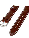 Men's Genuine Leather Watch Band (Brown) Cool Watch Unique Watch Fashion Watch