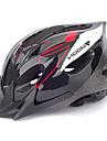 ЛУНА Велоспорт Красное и черное ПВХ / EPS 16 Вентс Подросток Свет велосипед шлем