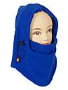 Mascara unisex al aire libre a prueba de viento azul Polar Fleece Ciclismo