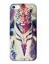 Футляр Тигр звезда шаблон для iPhone 5/5S