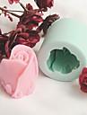 Moule de Cuisson Fleur Pour Gateau Pour Cookie Pour Tarte Silikon Ecologique Bricolage La Saint Valentin