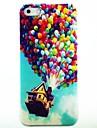 Couverture dure de cas modèle Ballon Maison pour iPhone 4/4S