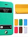 Etui en Similicuir pour iPhone 4/4S, Ecran Visible (Autres Coloris Disponibles)