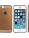 Яркий цвет прозрачный ТПУ мягкий чехол для iPhone 5S / 5 (разных цветов)