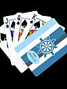 Персональный подарок Blue Anchor полосатый рисунок Playing Card для покера