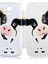 Pour Samsung Galaxy Coque Etuis coque Clapet Motif Coque Integrale Coque Animal Cuir PU pour Samsung S4 Mini