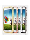 Pour Samsung Galaxy Coque Strass Coque Antichoc Coque Couleur Pleine Métal Samsung S4