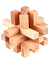 Madera Lock 14 piezas Puzzle Rompecabezas IQ juguete Cubo Magico