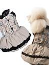 Dog Dresses - XS / S / M / L / XL - Spring/Fall - Beige Cotton / Terylene