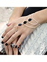 Shixin® Fashion Handmade Shell Alloy Charm Bracelet(Golden,Silver,Bronze)(1 Pc)
