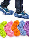 Creative Lazy People\'s Love Water Sucking/Mopping Slippers(Random Color