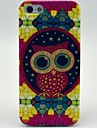 Etui souple Motif Cartoon Owl belle pour iPhone 5/5S