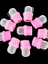 10PCS Rubber Polish Gel Removing Fingerstalls Nail Kits