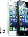 [4-Pack] di alta qualita Matte Anti-Glare Screen Protectors per iPhone 5/5S