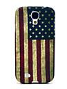 Retro US National Flag Pattern TPU Soft Case for Samsung Galaxy S4 I9500