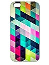 Colorful Diamond Puzzle Pattern Hard Case for iPhone 4/4S