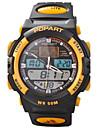 아가씨들 패션 시계 디지털 시계 손목 시계 석영 디지털 일본 쿼츠 PU 밴드 블랙